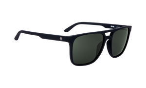 Spy Czar Happy Gray Green with Soft Matte Black Lens Sunglasses