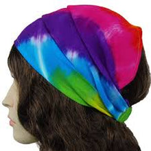 Headbands Tie Dye/ Colored/Flowered/Striped