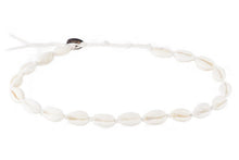 Lotus and Luna Shell Choker / Double Wrap Bracelet
