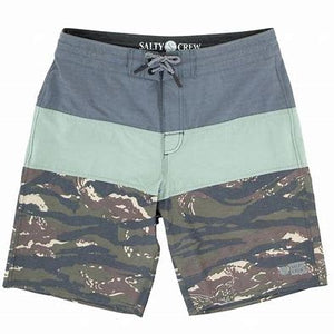 Salty Crew Too Classic Bass Grove Utility Short-Slate - Paddles Up Paddleboards