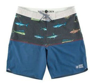 Salty Crew Men's Splice Utility Short-Navy - Paddles Up Paddleboards