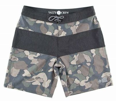 Salty Crew Too Classic Camo Utility Short-Earth - Paddles Up Paddleboards