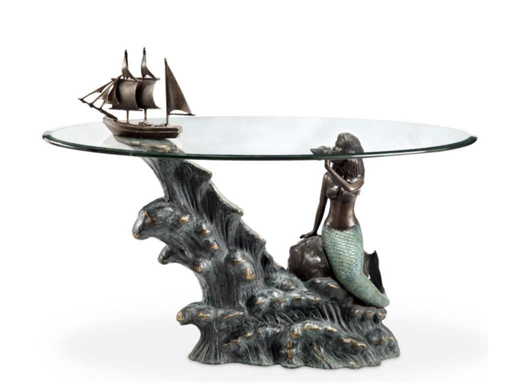 Coffee table twilight home decor gifts coffee table ship mermaid geotapseo Image collections