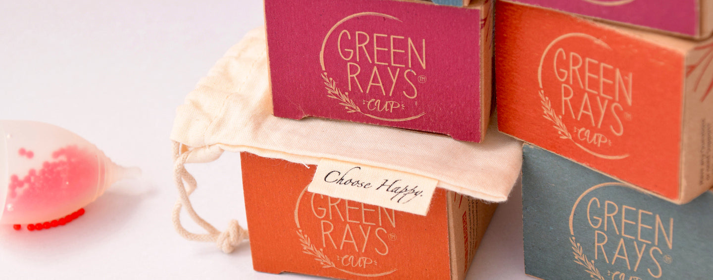 Comfortable Healthy Green Rays Cup Menstrual Cup - Your Sustainable Alternative to Period Management. Buy Online Menstrual Cup Green Rays Cup On Low Prices at getgreenrays.com.