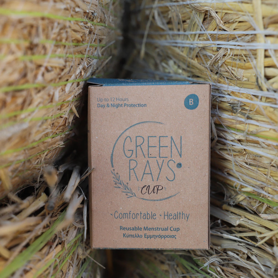 Green Rays Cup - Size B | Comfortable Healthy Green Rays Cup Menstrual Cup. Buy Online Menstrual Cup Green Rays Cup - Size B On Low Prices at getgreenrays.com.