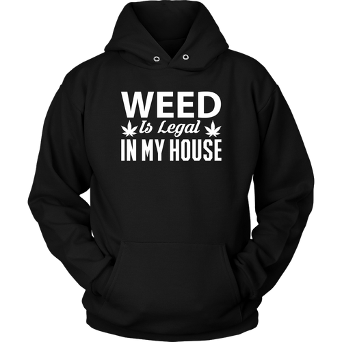 Weed Is Legal Unisex Hoodie