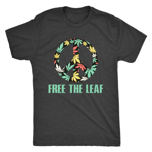 Free The Leaf Men's Triblend Tee