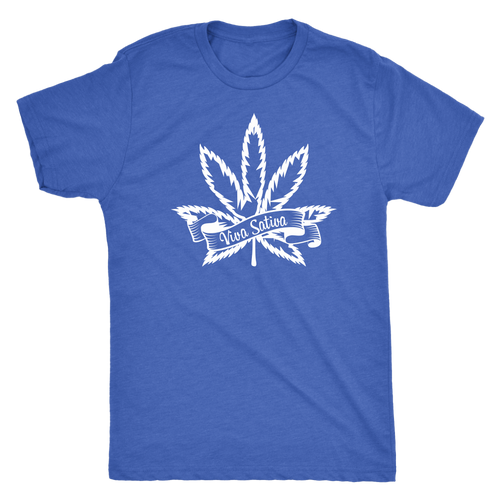 Viva Sativa Men's Triblend Tee