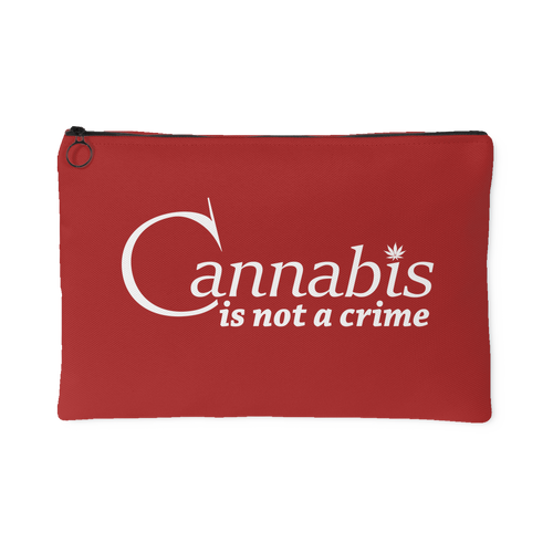 Cannabis Is Not a Crime Stash Bag
