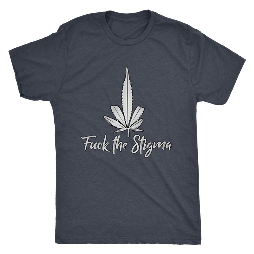 Fuck the Stigma Men's Triblend Tee