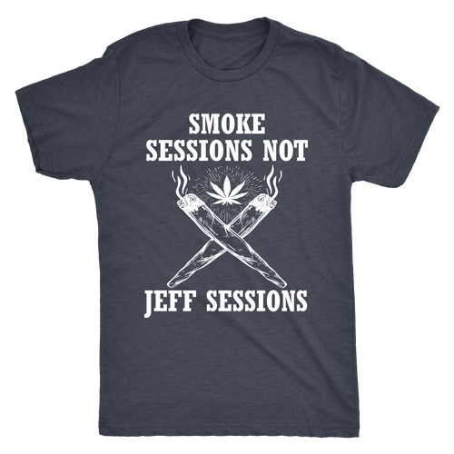 Smoke Sessions Men's Triblend Tee