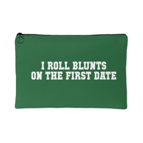 I Roll Blunts Stash Bag