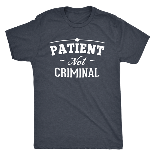 Patient Not Criminal Men's Triblend Tee