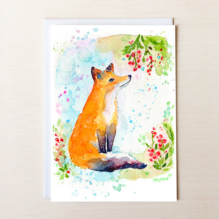 Fox And Berries