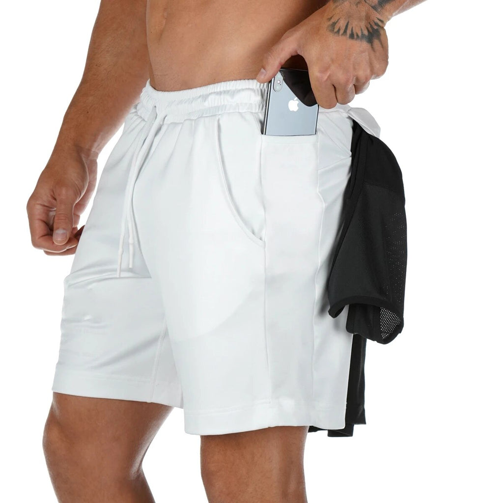 Men's Breathable Gym Shorts