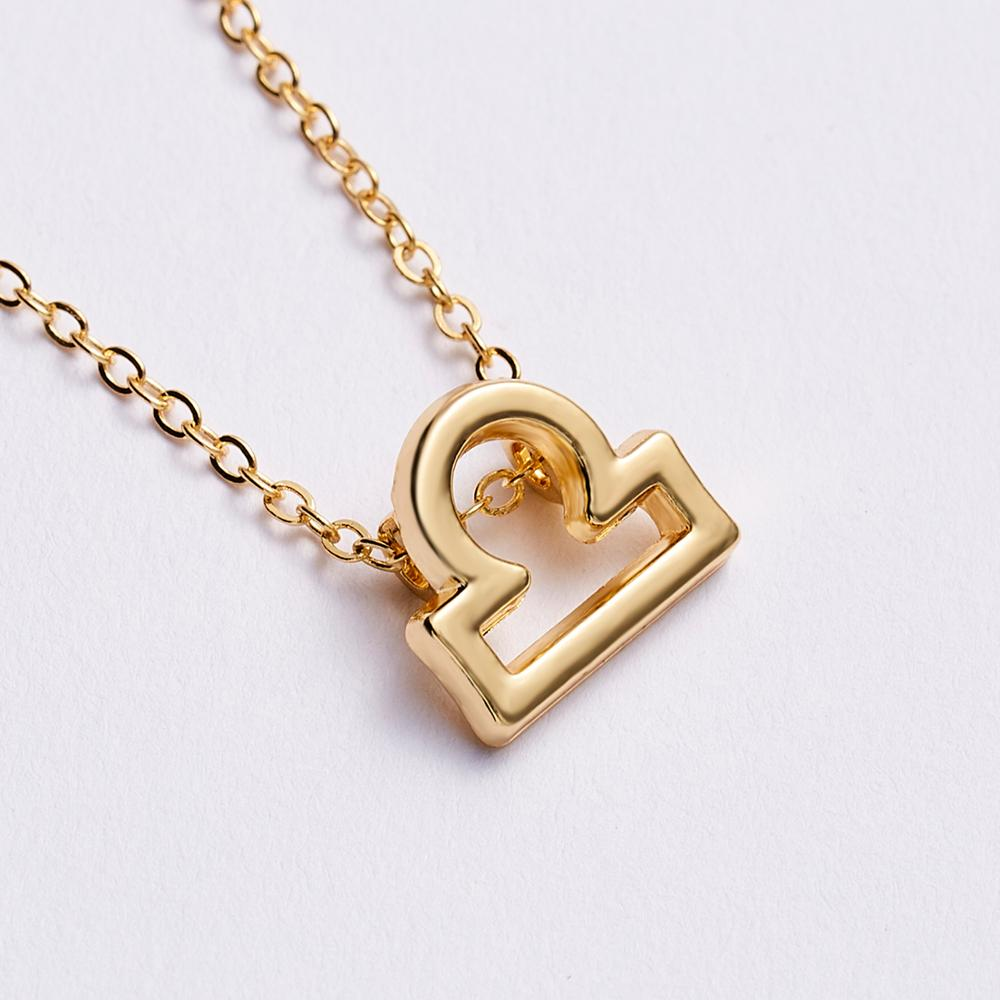 Women Elegant Zodiac Pendant Necklace