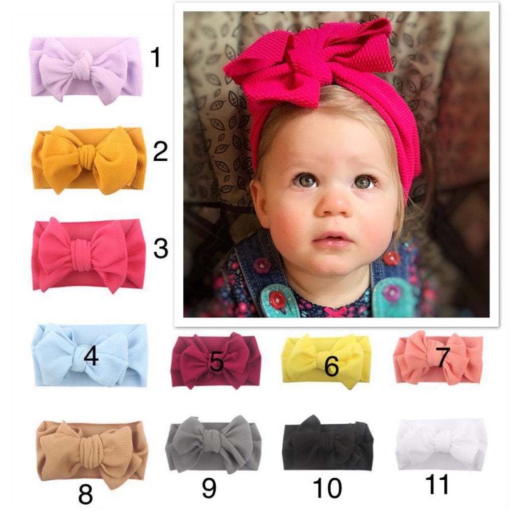 Big Bow Headwraps