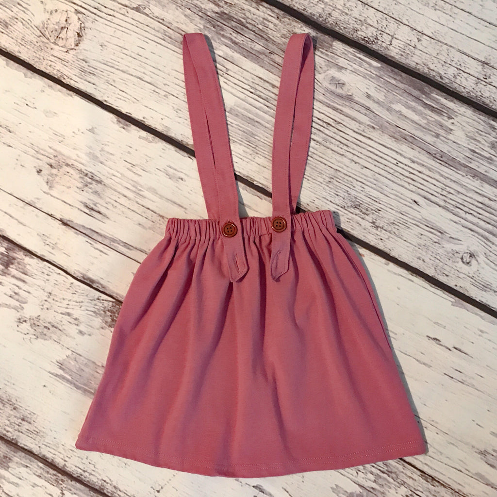 Maisie Suspender Skirt in Orchid