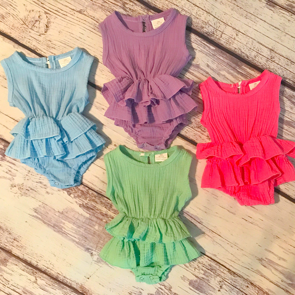 The Mila Ruffle Romper