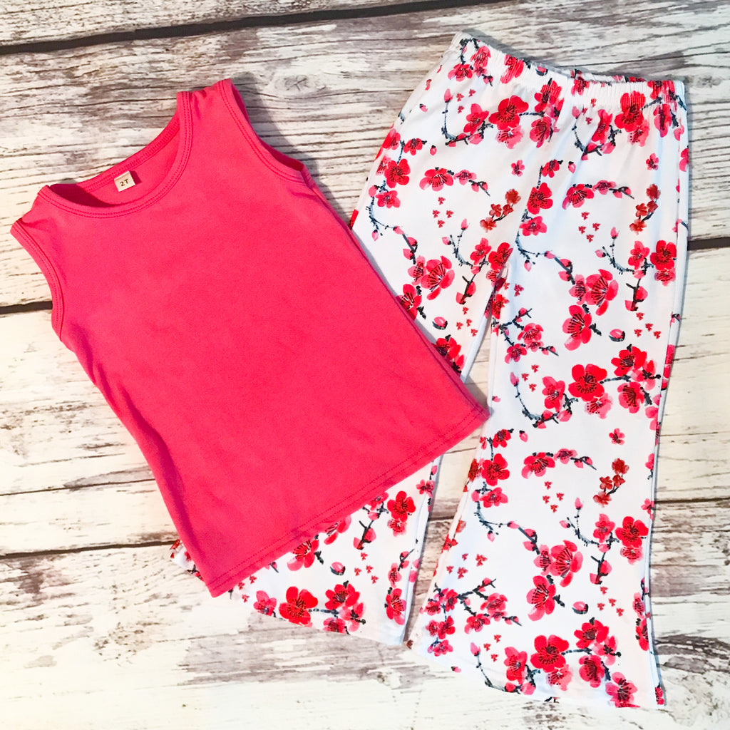 The Ruby Tank & Bell Bottoms Set