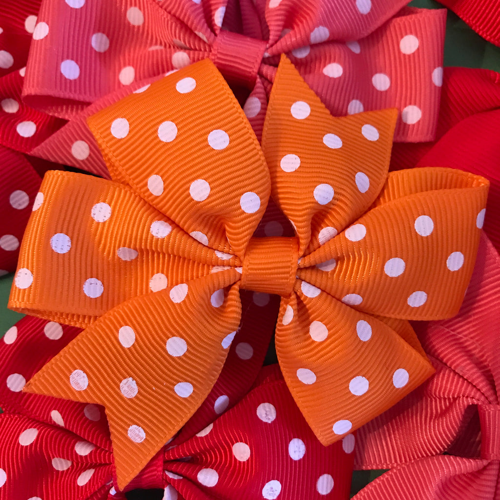 3-inch Grosgrain Bows on Alligator Clips