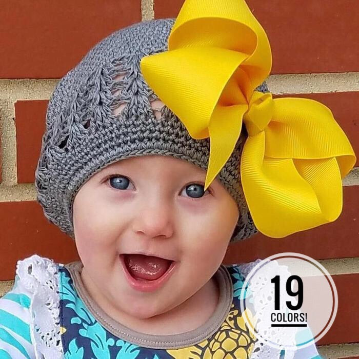 French Style Knit Hats for Infants & Toddlers
