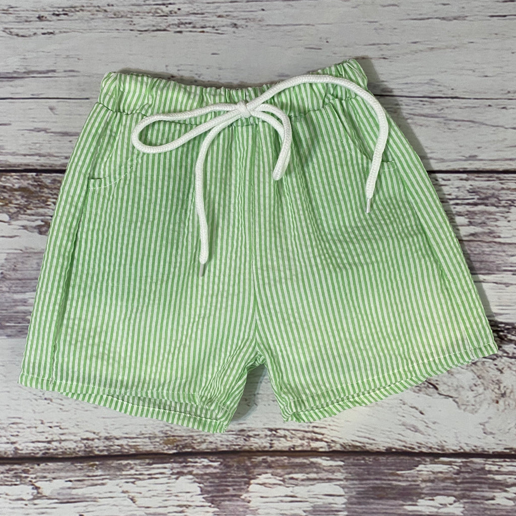 Boys' Seersucker Swim Trunks/Shorts