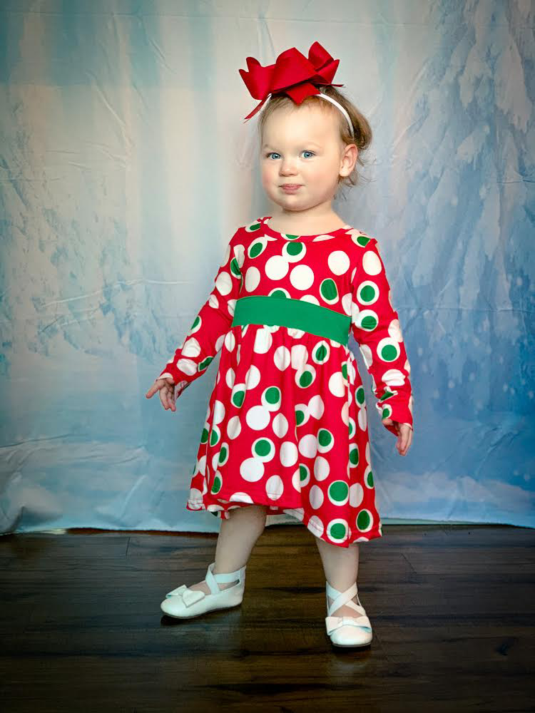 Retro Christmas Dress