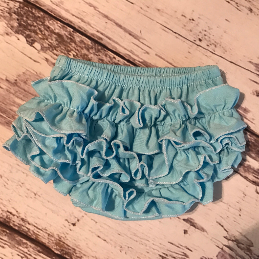 Cotton Ruffle Bottom Bloomers