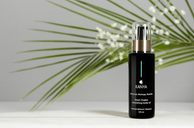 Kanya Heart Chakra Nourishing Body Oil