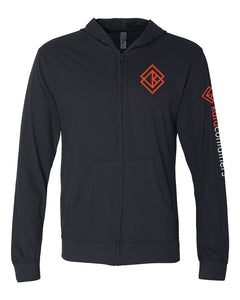 The Kata Containers Sueded Full-Zip Hoodies