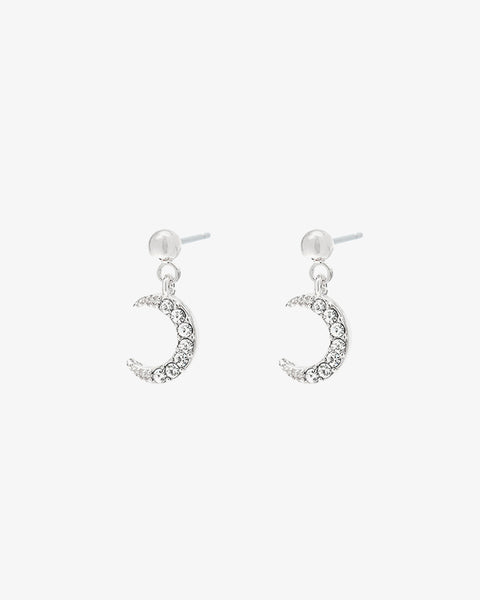 Moonlight Earrings - Silver