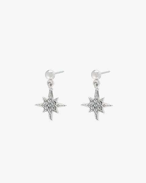 Starry Night Earrings - Silver