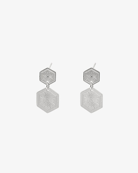 Shine On Earrings - Silver