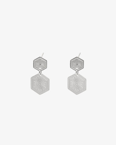 Shine On Earrings - Silver - we are SASSY.