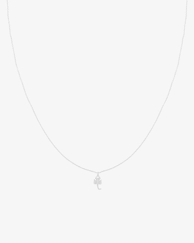 Scorpio Necklace - Silver - we are SASSY.
