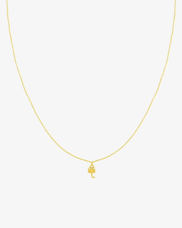 Scorpio Necklace - Gold - we are SASSY.
