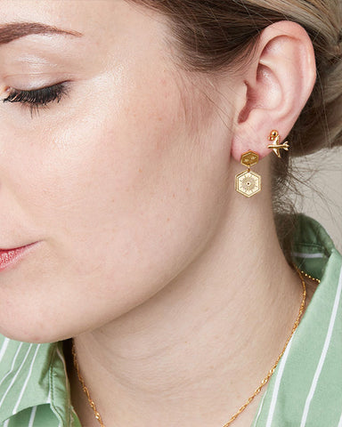 Shine On Earrings - Gold - we are SASSY.