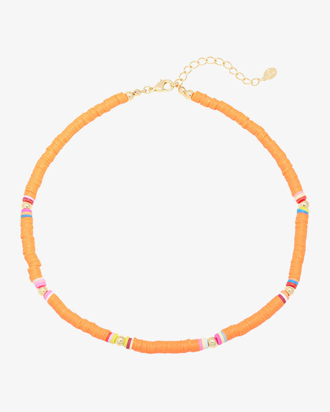 Surf Babe Necklace - Orange