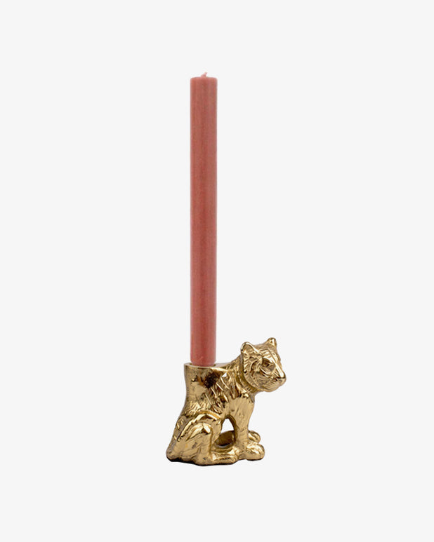 À la - Small Sitting Tiger Candle Holder - we are SASSY.