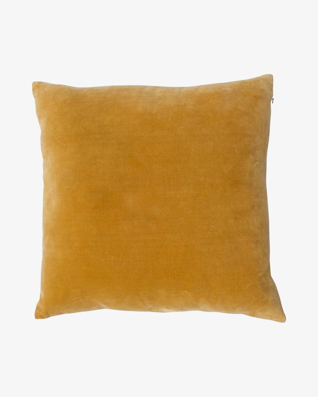 À la - Velvet Cushion - Gold - we are SASSY.