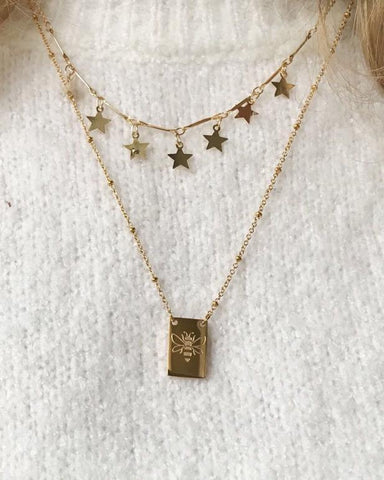Reach the Stars Necklace - Silver - we are SASSY.