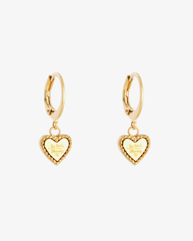 Be Kind Earrings - Gold - we are SASSY.