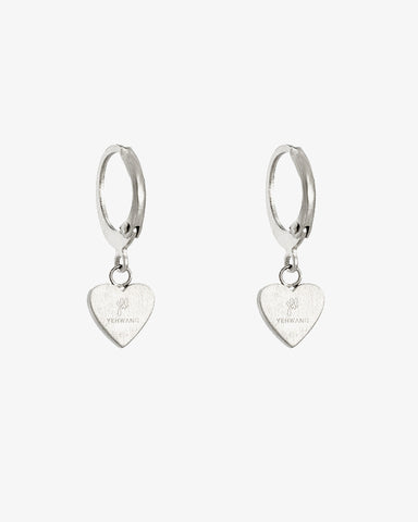 Be Kind Earrings - Silver - we are SASSY.