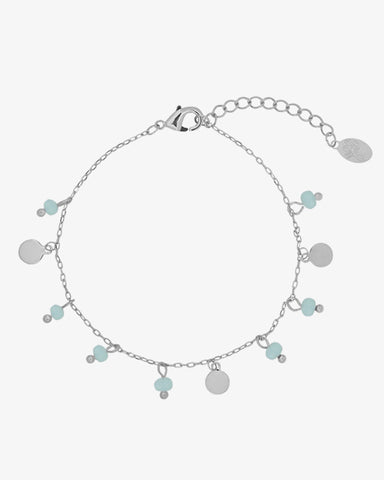 Color Beads Bracelet - Silver - we are SASSY.