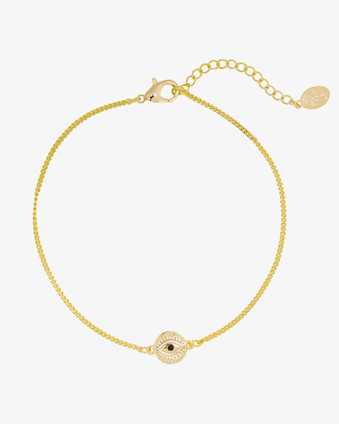 Curious Eyes Bracelet - Gold
