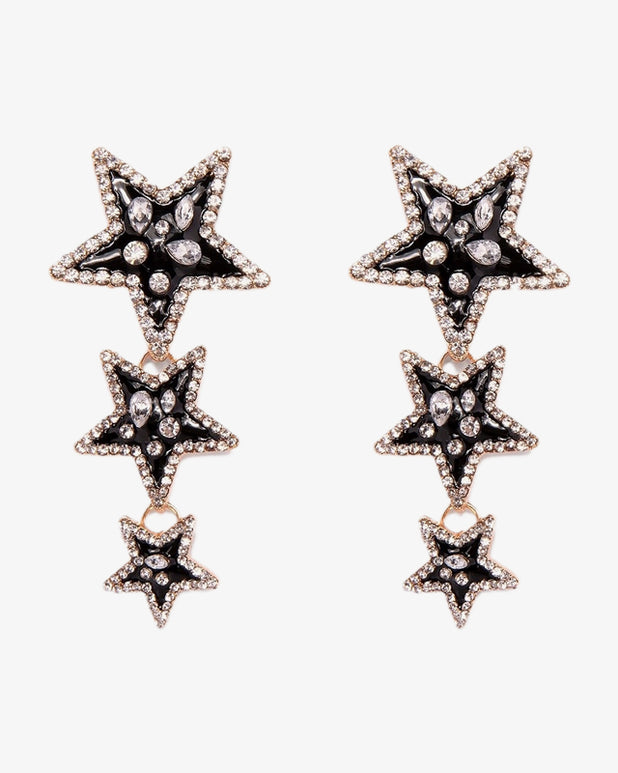 Dazzling Star Earrings - we are SASSY.