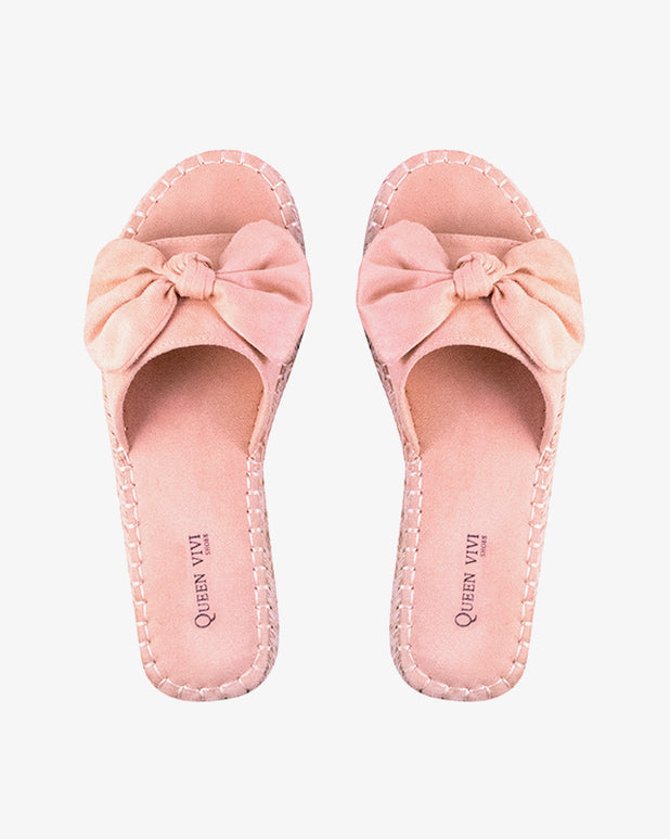 Elise Flip Flops - Pink - we are SASSY.