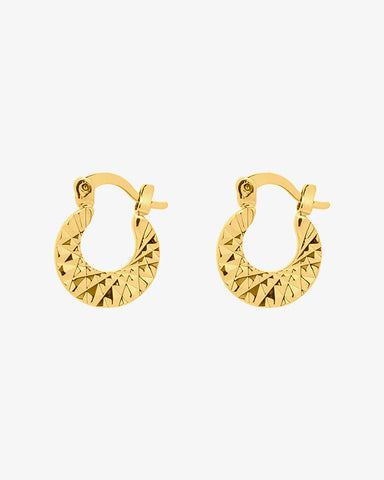 Endless Bling Earrings - Gold - we are SASSY.