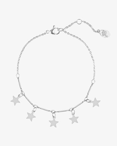 Star of the Night Bracelet - Silver - we are SASSY.